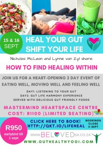 heal your gut. Shift your Life Flyer